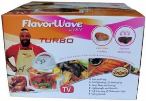 Lò nướng thủy tinh FlavorWave Oven Turbo chất...