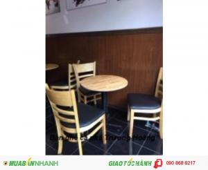Bàn ghế cafe quán ăn quán nhậu giá rẻ nhất