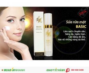 Sửa rửa mặt sáng da ngừa mụn - Basic, làm sạch da mỗi ngày