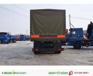 Xe tải thùng kamaz 53229 14.5 tấn 4 chân (6×4), giao xe toàn quốc