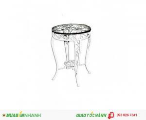 Bàn cafe sắt nghệ thuật Việt Nhất - BSVN735