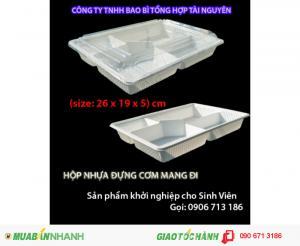 hộp nhựa mang đi 0906713186