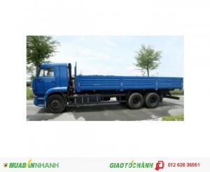 Xe tải 14.5 tấn Kamaz 53229 6x4 nhập khẩu CHLB Nga