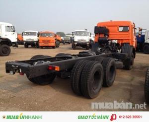 Xe tải Kamaz 53228 14 tấn (khối) 6x6 thùng dài 6.7m nhập khẩu
