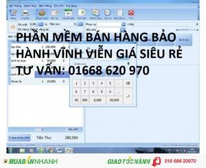 Phần mềm tính tiền cho tạp hóa giá rẻ nhất tại Hà Nội