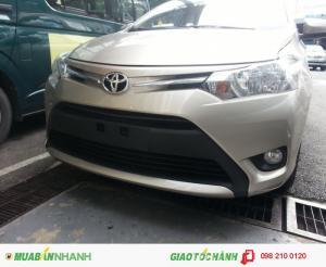 Khuyến Mãi Toyota Vios 2017 Số Sàn Mới. Mua Trả Góp Chạy Uber Grab chỉ từ 90Tr