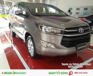 Khuyến Mãi Toyota Innova 2017 2.0E Số sàn, Nhận Ngay Xe Chỉ 140Tr, Vay 8 Năm Trả Góp 11,8Tr/tháng