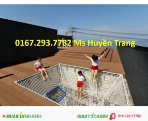 Lưới làm sân chơi trên không cho trẻ em