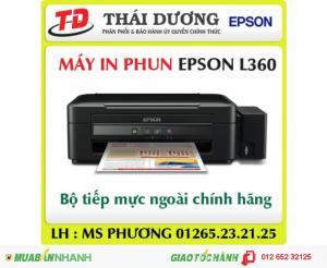 Máy in phun màu đa năng Epson L360 giá tốt,