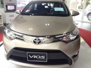 Xe ôtô Toyota Vios 2016 ở HCM từ Đại lý Toyota 100% vốn Nhật - Toyota An Thành Fukushima