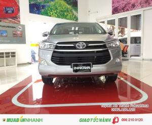 Khuyến Mãi Toyota Innova 2017 Số Sàn, Mua Trả Góp chỉ cần 265tr là sở hữu ngay