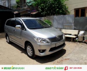 Bán Toyota Innova 2.0E cũ đời 2013/2014, màu bạc số sàn