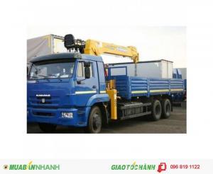 Xe Tải Cẩu Kamaz 65117 Nhập Khẩu trực tiếp