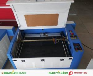 Máy laser 6040, máy laser cắt vải tự động, cắt khắc dấu