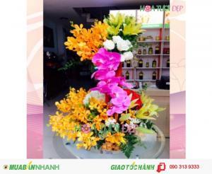 Hoa mừng sinh nhật đẹp sang trọng - GSN039