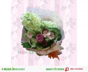 Bó hoa sinh nhật đẹp - giá cả phải chăng - BSN017