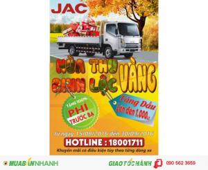 Xe tải JAC 1,49t đến 9,1 tấn khuyến mãi lớn