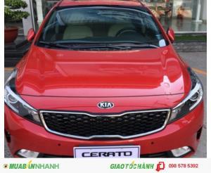 Bán xe Kia Cerato/K3 2017 ưu đãi hấp dẫn giao xe ngay