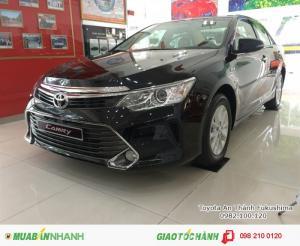 Khuyến Mãi Toyota Camry 2.0E 2017, Mua Trả...