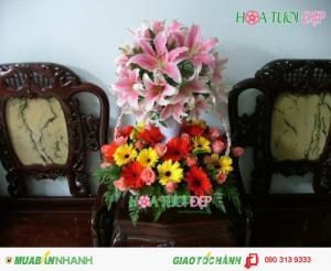 Hoa Sinh Nhật Đẹp Lung Linh - GSN022