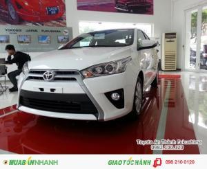 Khuyến Mãi Toyota Yaris 1.3G 2016 Màu Trắng...