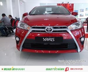 Khuyến Mãi Toyota Yaris 1.5G 2017 Màu Đỏ Nhập Khẩu Thái Lan Mới, Mua Trả Góp chỉ cần 265Tr.
