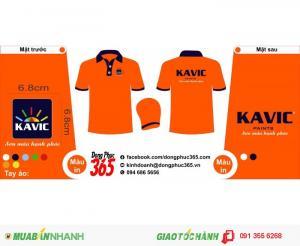 Đồng phục công ty Sơn KAVIC