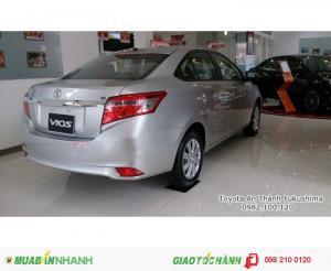Kích thước xe Toyota Vios Dài x Rộng x Cao: 4410 x 1700 x 1475 (mm) | Toyota Vios ưu đãi giá tốt HCM - Đại lý Toyota 100% vốn Nhật cung cấp xe Vios giá tốt, Chi tiết vui lòng liên hệ Phòng Kinh Doanh: 0982.100.120