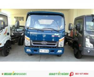 Xe tải veam VT260 có 3 mẫu thùng kín mui bạc lửng