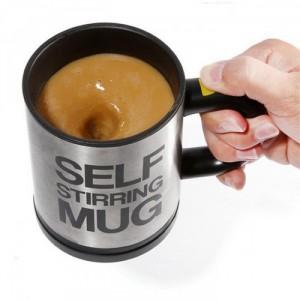 Cốc tự khuấy độc đáo dùng để pha cà phê không...