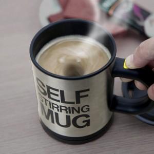 Cốc tự khuấy pha cà phê không cần thìa, quà...