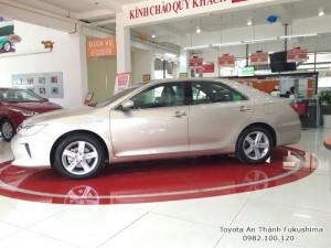 Giá xe Camry 2.5Q trả góp ở HCM - giá bán xe Camry từ Đại lý Toyota 100% vốn Nhật - Toyota An Thành Fukushima, gọi ngay đến 0982 100 120 để nhận báo giá