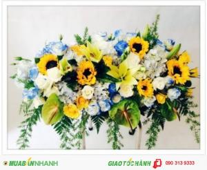 Hoa Chúc Mừng Đẹp Rẻ Ý Nghĩa - CM123