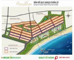 Bán đất nền sát biển ngay trung tâm Phan Thiết tiện kinh doanh, đầu tư