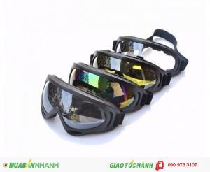Kính Bảo Hộ Chống Bụi UV400 Cho Phượt Thủ