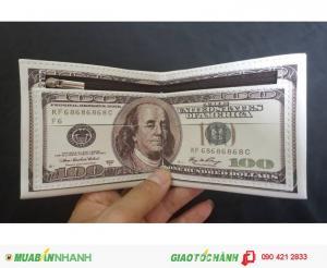 Ví tiền hình USD và 500k