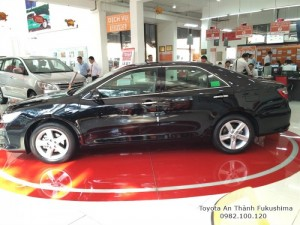 Khuyến Mãi cực hot Toyota Camry 2.5Q 2017 Màu Đen, Mua Trả Góp Trọn Gói Chỉ 460Tr.