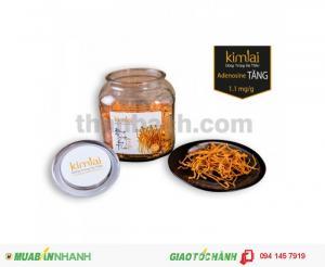 Sợi đông trùng hạ thảo Kim Lai sấy khô (Hộp gỗ 20g)