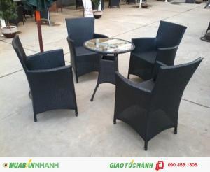 Bàn ghế cà phê sân vườn