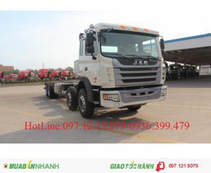 Xe tải JAC 4 chân khuyến mại lớn mùa thu vàng...
