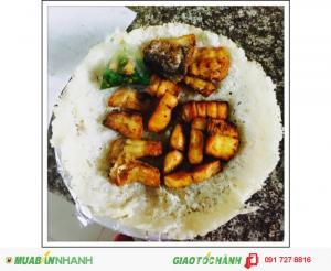 Bán cơm dứa cá cháy + khô cá dứa một nắng