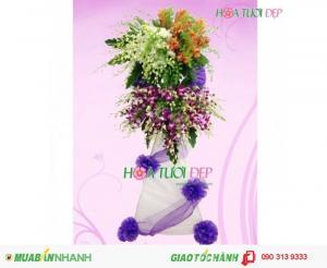 Shop Hoa - Hoa Viếng Tang Lễ Trang Trọng TL060