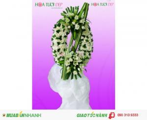 Vòng Hoa Tang Lễ - Hoa Viếng - TL028