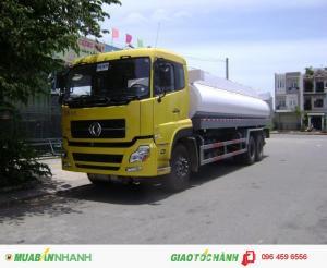 Xe chở xăng dầu 3 chân Đông Phong 3 chân 16 khối