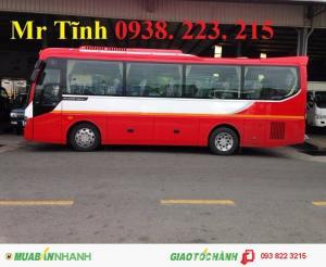 Xe khách thaco 29 chỗ bầu hơi, xe khách thaco...