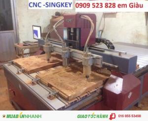 Cung cấp máy CNc 3 đầu đục tranh giá rẻ