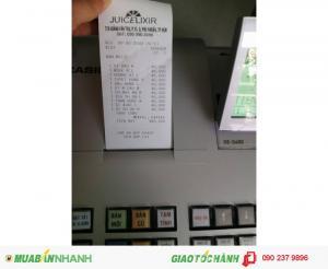 Máy tính tiền dùng cho quán cafe bán tại Điện Biên, Sơn La