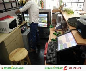 Máy tính tiền cảm ứng giá rẻ cho Shop quần áo tại Tây Ninh