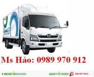 Xe tải HINO WU 300 mới 100% khuyến mại khủng Hưng Yên