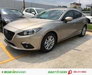 Mazda Hưng Yên bán xe Mazda 3 1.5 sedan số tự động, sản xuất năm 2016, hỗ trợ trả góp đăng kí đăng kiểm, đủ màu giao xe nhanh cho quý khách hàng. Địa chỉ: 464 Nguyễn Văn Linh, TP Hưng Yên